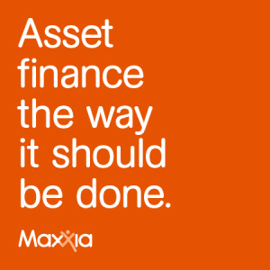 Asset finance the way it should be done. Maxxia