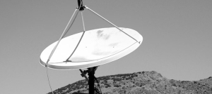 Just one satellite dish can provide a whole platoon with the ability to keep in touch