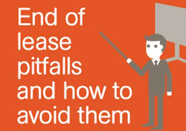 Avoid end of lease pitfalls