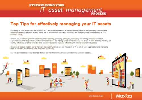Top Tips for effectively managing your IT assets