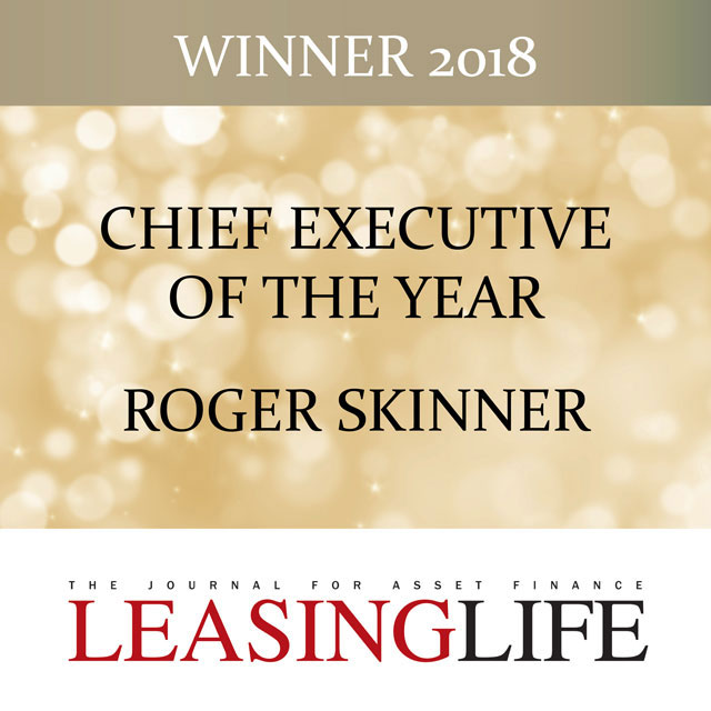 Maxxia Roger Skinner Leasing Life Chief Executive of the Year