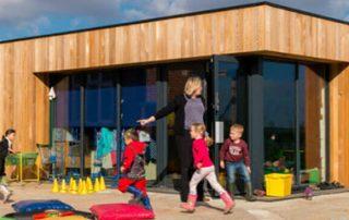 modular school buildings image