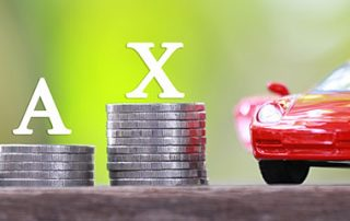 benefit in kind company car tax image