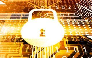 Cyber Security Padlock